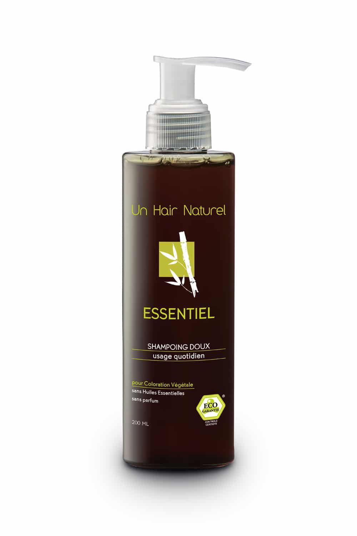 Un Hair naturel Salons de coiffure bio Nantes Shampoing Essentiel